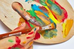 Artiste féminin Images stock