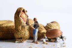 Artiste miniature de peuples Image stock