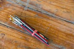 Artiste Paint Brush Bundle Image libre de droits
