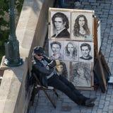 Artiste Painter Images libres de droits