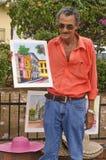 Artiste, Panamá City, Panama Image libre de droits