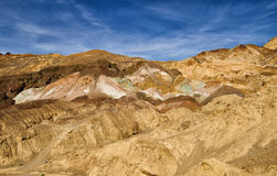 Artiste's palette in Death Valley National Park. California Royalty Free Stock Image