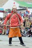 Artiste sur le festival de l'héritage de Ladakh photo libre de droits
