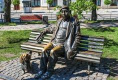 Artiste Yakovtchenko de monument Image libre de droits