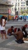 Artistes de rue Photos libres de droits