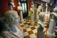 Artistes en buste italiens Images libres de droits