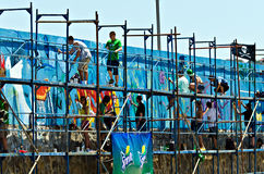 Artisti dei graffiti Fotografia Stock