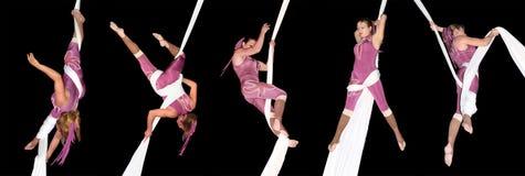 Artisti del circo Fotografie Stock Libere da Diritti