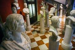 Artisti italiani di ritratto a mezzo busto Immagini Stock Libere da Diritti