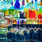 Artistic Abstract Bar Image. Royalty Free Stock Images