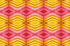 Artistic abstract smooth multicolored diamond fabrics pattern background vector illustration
