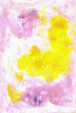 Artistic abstract watercolour painting backdrop. H Royalty Free Stock Photo