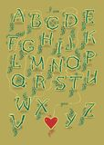 Encrypted romantic message. I am drawn to you Stock Photos