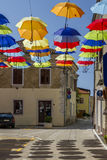 Artistic attractions of the old town Stock Photography