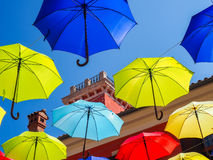 Artistic attractions of the old town Stock Image