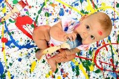 Artistic Baby Stock Photo