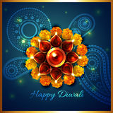 Artistic background of diwali. Vector artistic background of diwali