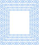 Artistic background with frames in light blue. An artistic background that can be used as decoration in different projects Royalty Free Stock Photo
