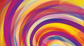 Artistic background with swirl. Vector pattern. CMYK colors. Artistic design background with violet, purple, yellow and red swirls. Vector graphic pattern. CMYK stock illustration