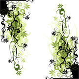 Artistic background of vines Stock Photography