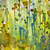 Artistic background watercolor Stock Images