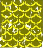 Artistic Banana background Stock Image