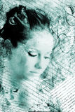 Artistic beauty portrait Royalty Free Stock Photography
