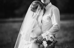 Artistic black and white photography. Wedding photography Stock Photo