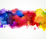 Artistic blot. Abstract artistic Background forming by blot royalty free illustration