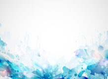 Artistic blots. Abstract artistic Background forming by blots stock illustration