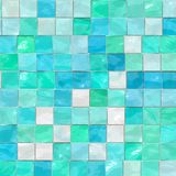 Artistic blue tiles royalty free illustration