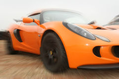 Artistic blur of motor car Royalty Free Stock Photos