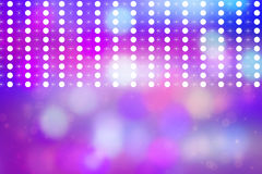 Artistic bokeh lights background with graphic elements Royalty Free Stock Photography