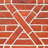 Artistic brickwork Stock Image