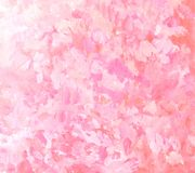 Abstract pink brushstroke painting background. Artistic brushstroke texture background. Hand painted gouache background Royalty Free Stock Images