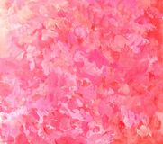 Abstract pink brushstroke painting background. Artistic brushstroke texture background. Hand painted gouache background Stock Images