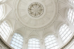 Artistic ceiling royalty free stock image