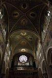 Artistic ceiling of the church Royalty Free Stock Images