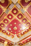 Artistic ceiling designs Thailand Royalty Free Stock Photo