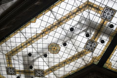 Artistic ceiling in glass Royalty Free Stock Photography