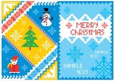 Artistic christmas card Royalty Free Stock Image