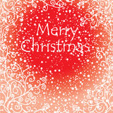 Artistic christmas card Royalty Free Stock Images