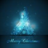 Artistic christmas tree Royalty Free Stock Photography