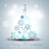 Artistic christmas tree Stock Image
