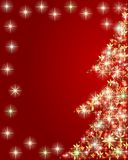Artistic Christmas tree Royalty Free Stock Photos