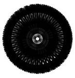 Artistic circle shape made of dense line. Abstract circle, circl Royalty Free Stock Photos