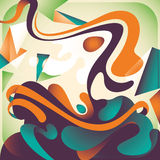 Artistic colorful abstraction. Royalty Free Stock Photos