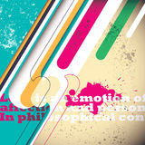 Artistic colorful background. Stock Images