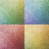 Artistic colorful mosaic backgrounds geometric Stock Photo