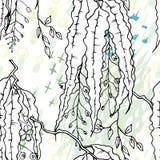 Artistic Creative Tropical Black White Modern vector illustration